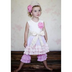 Giggle Moon Baby iThrone Room Ruth Dress & Capris